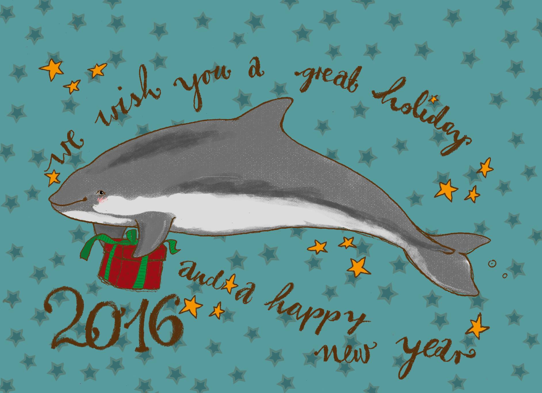 ASCOBANS Season's Greetings 2015 © Doro Schmitz