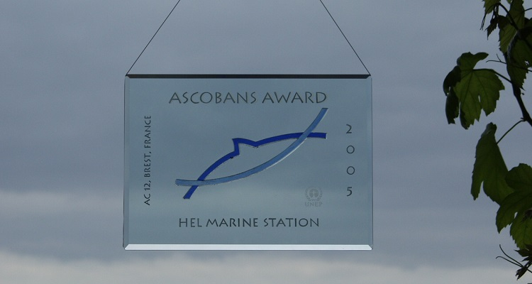 The first ASCOBANS Outreach and Education Award