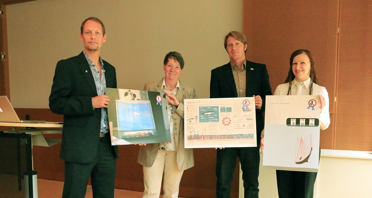 Winning Entries of Harbour Porpoise Creativity Competition Presented to German Environment Minister