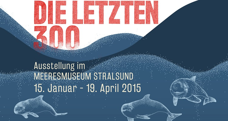 "Exhibition ""Die letzten 300"" (The Last 300) on the Baltic Harbour Porpoise"